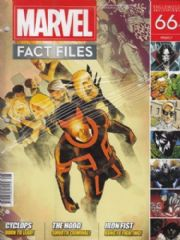 Marvel Fact Files #66 Eaglemoss Publications